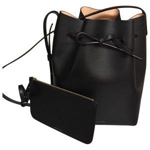 black Plain Leather MANSUR GAVRIEL Handbag - Vestiaire Collective