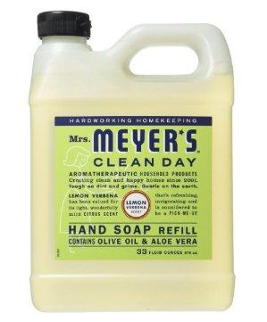 $4.78Mrs. Meyer's Liquid Hand Soap Refill, Lemon Verbena, 33 Fluid Ounce