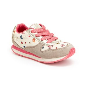 Hanna Andersson Macaron Floral Jaime Sneaker | zulily
