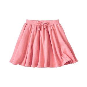 Girls Super Twirl Skirt In French Terry | Sale Girls Dresses