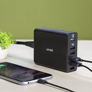 $29.99 Anker 60W 6-Port USB Charger