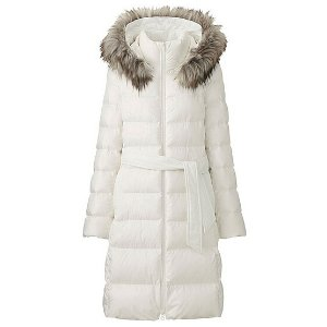 WOMEN LIGHTWEIGHT DOWN HOODED COAT
