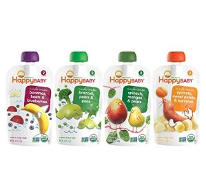 $7.48 Happy Family Baby Stage 2 Simple Combos - Variety Pack - 4 oz - 16 Pack