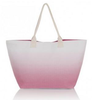 $25 South Beach Pink Ombre Beach Bag