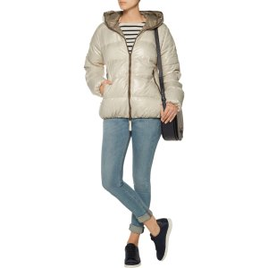 Thia quilted shell down hooded coat | Duvetica | US | THE OUTNET
