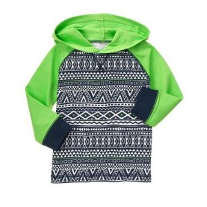 Toddler Boys Limeade Neon Sleeve Pullover by Gymboree