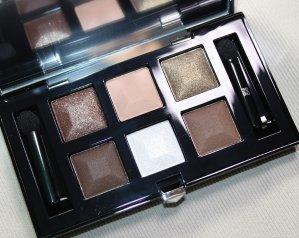 闪亮的大地主!Givenchy Shimmering Nude六色眼影盘试色+测评