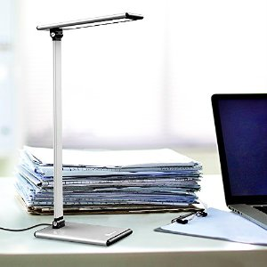Lowest price! $29.99 TaoTronics Aluminum Alloy LED Desk Lamp