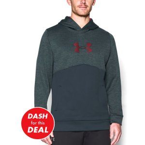 Stealth Gray Storm Armour® Fleece Logo Twist Hoodie
