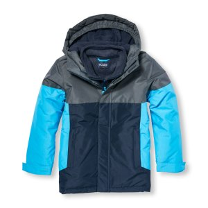 Boys Long Sleeve Colorblock 3-In-1 Jacket   The Children's Place