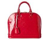 Louis Vuitton Rose Pop Monogram Vernis Leather Alma PM