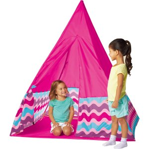 Fabric Tepee, Pink