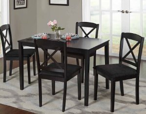 $169 Mason 5 Piece Cross Back Dining Set
