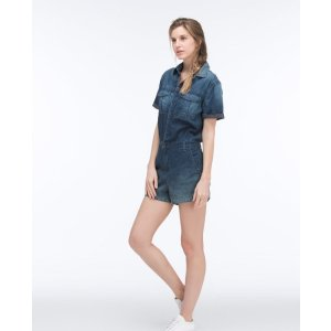 The Rhoda Romper In Cruiser | AG Jeans Official Store