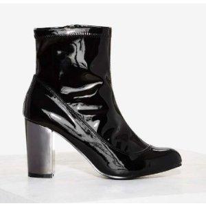 Nasty Gal Stoker Patent Boot