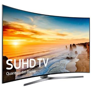 Samsung 55 Inch Curved 4K Ultra HD Smart TV