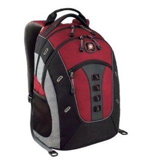 $29 Swiss Gear GRANITE Backpack (Red/Black)