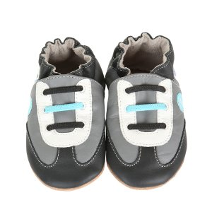 All Star Rodney Soft Soles™ Baby Shoes, Grey | Robeez