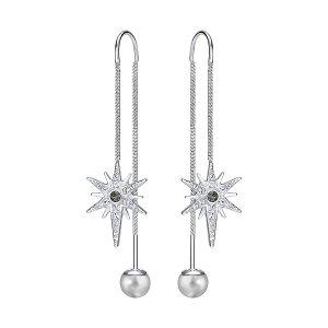 Fantastic Pierced Earrings - Jewelry - Swarovski Online Shop
