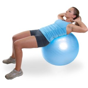 CAP Fitness 55cm Stability Ball, Blue