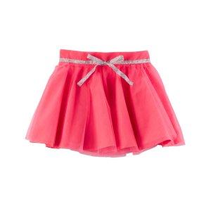 Toddler Girl Metallic Belted Tutu Skirt | Carters.com