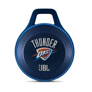 JBL Clip NBA Edition - Thunder   Oklahoma City Thunder Ultra-portable Bluetooth Speaker with Carabiner