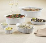 $22.49 Corningware French White 10-Pc. Bakeware Set