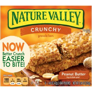 $9.6 Nature Valley Crunchy Granola Bars Pack of 6