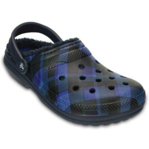 Classic Fuzz Lined Graphic Clogs | Crocs