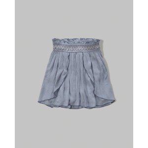 girls smocked tulip skirt | girls stock up sale | Abercrombie.com