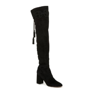 Suede Knee High Boots by Elie Saab | Moda Operandi