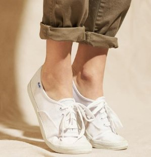 $17.97 Keds Women's Cotton Canvas Sneakers