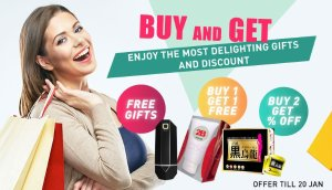 Buy 1 Get 1 FreeBuy & Get @ Sasa.com