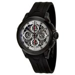 Perrelet Men's Chronograph Split Second Skeleton Watch