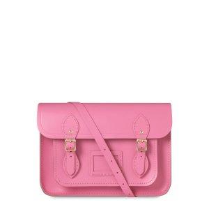 Classic Pink 13 inch Satchel with Magnetic Closure | Cambridge Satchel
