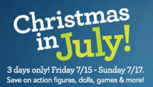Summer Event! 3 Day Christmas in July Sale