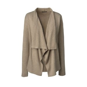 Women's Cotton Waterfall Cardigan