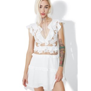 For Love & Lemons Laney Lou Dress | Dolls Kill