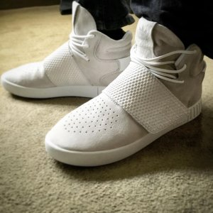 As Low as $66.49 adidas Tubular Invader Strap Men's Casual Shoes