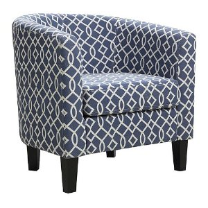As Low As $97.99+$10 Kohl's Cash Riley Barrel Arm Chair