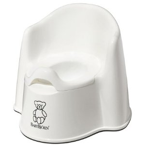 BabyBjorn Potty Chair - White - Free Shipping