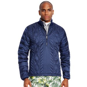 Quilted Down Cable Jacket - Puffers & Down � Jackets & Outerwear - RalphLauren.com