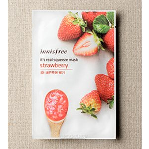 SKIN CARE - It's real squeeze mask - strawberry | innisfree