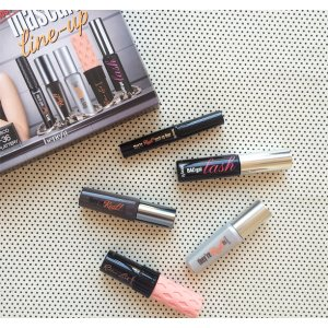 most-wanted mascara line-up