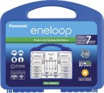 $29.99 Panasonic eneloop Charger, 8 AA & 2 AAA batteries, 2 C and 2 D Spacers Kit