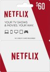 $60 $60 Netflix Gift Card + $10 Best Buy Gift Card