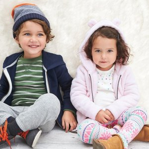 Up to 60% Off + Extra 25% off $40 And Free Shipping All Orders Toddler Clothing @ Carter's