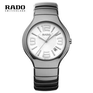$359 史低价!经典陶瓷款Rado True 系列 男士陶瓷石英腕表