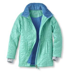 Kids' Girls' Puff-n-Stuff Coat | Now on sale at L.L.Bean