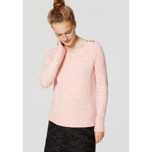Shoulder Button Sweater